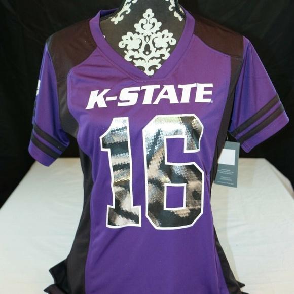 Tops - Kansas State Wildcats K-State Football Jersey #16